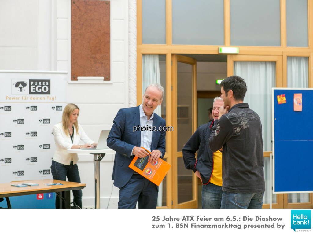 1. BSN Finanzmarkttag Pures Ego , © Martina Draper/photaq (07.05.2016)
