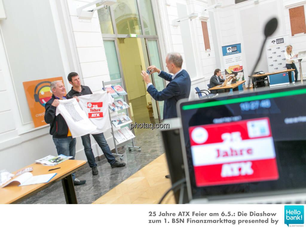 1. BSN Finanzmarkttag http://www.photaq.com/page/index/2512 25 Jahre ATX, © Martina Draper/photaq (07.05.2016)
