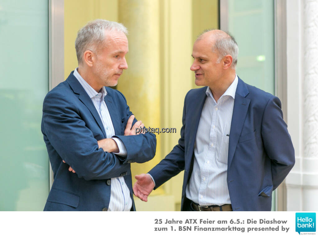 Christian Drastil (BSN), Karl Altrichter, © Martina Draper/photaq (07.05.2016)