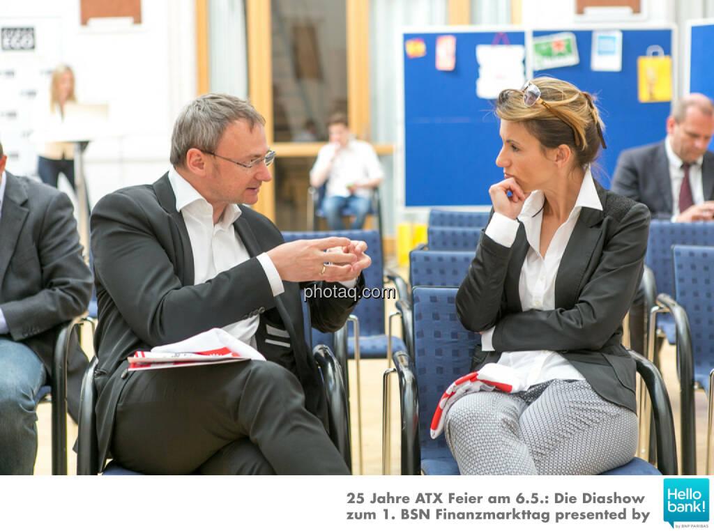 Fritz Strobl, Alexandra Baldessarini, © Martina Draper/photaq (07.05.2016)