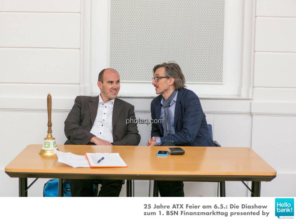 Bernhard Dörflinger, Josef Chladek, © Martina Draper/photaq (07.05.2016)