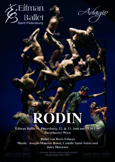 Boris-Eifman-Ballett : Auftritt des Boris-Eifman-Balletts am 12.Juni, dem Tag Russlands, am Wiener Burgtheater : Fotocredit: Boris-Eifman-Ballett, © Aussendung (12.05.2016)
