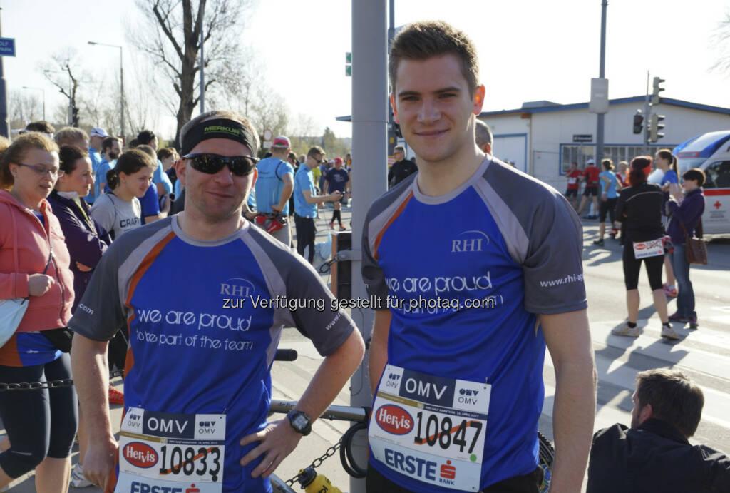 RHI beim Vienna City Marathon 2013, © RHI (15.04.2013)