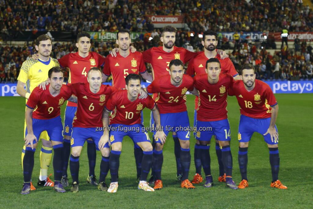 Nationalteam Spanien : Die spanischen Top-Fußballer bereiten sich im Montafon auf die Fußball-EM vor : Fotocredit: Carrusan Press/Carmelo Rubio, © Aussendung (20.05.2016)