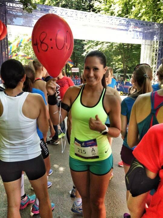 Monika Kalbacher beim Österreichischen Frauenlauf