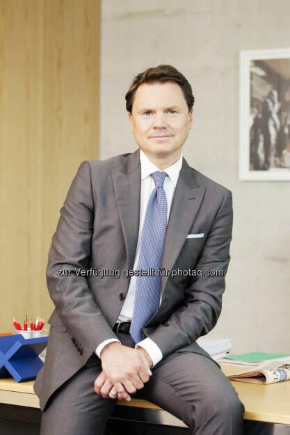 Alexander Zschokke, CEO Franke Gruppe : Franke Gruppe erwirbt Mamoli Robinetteria S.p.A. : Fotocredit: Franke Group, © Aussendung (27.05.2016)