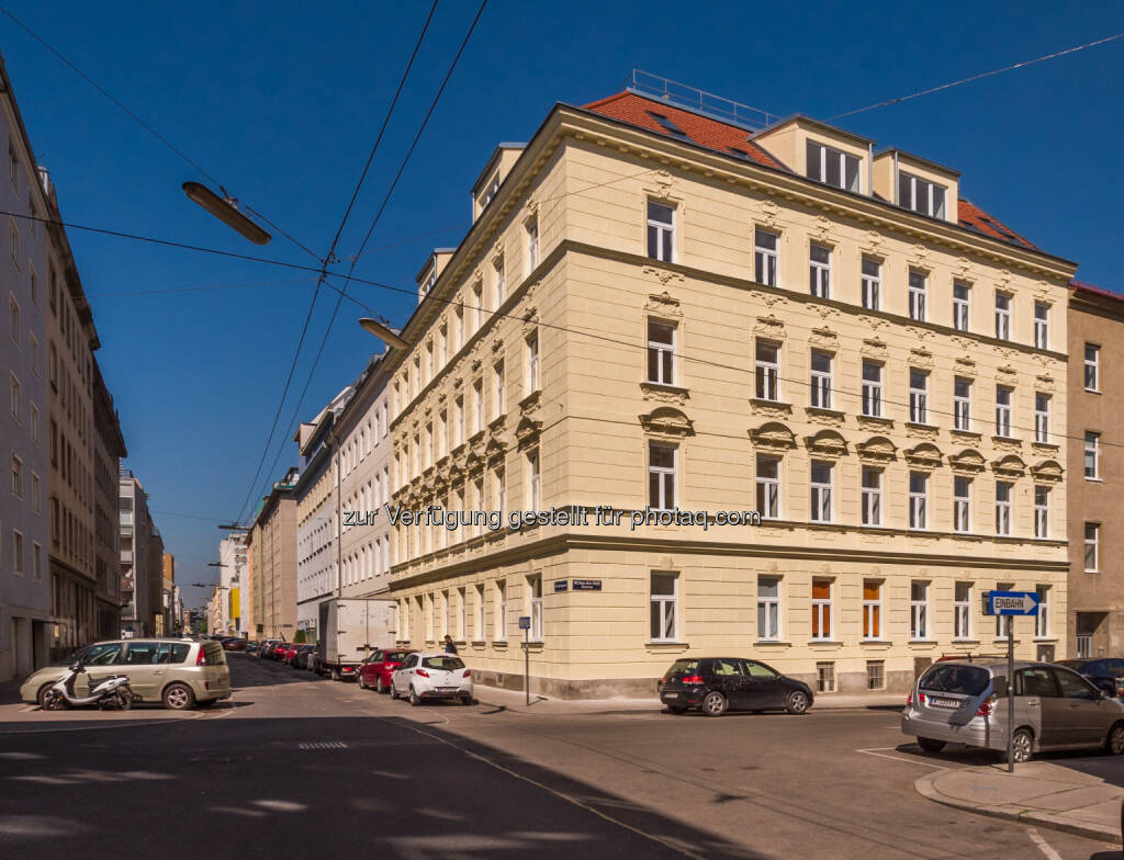 Zinshaus Davidgasse 34 : CPI Immobilien : Erfolgreiche Revitalisierung im 10. Bezirk : Fotocredit: CPI Immobilien Gruppe, © Aussendung (30.05.2016)
