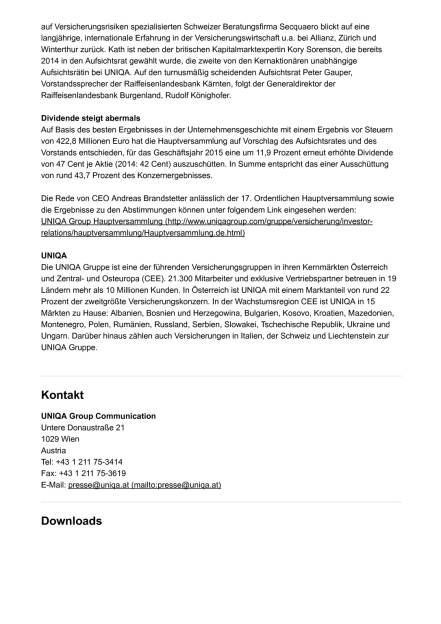 Uniqa erweitert Aufsichtsrat, Seite 2/3, komplettes Dokument unter http://boerse-social.com/static/uploads/file_1138_uniqa_erweitert_aufsichtsrat.pdf (31.05.2016)