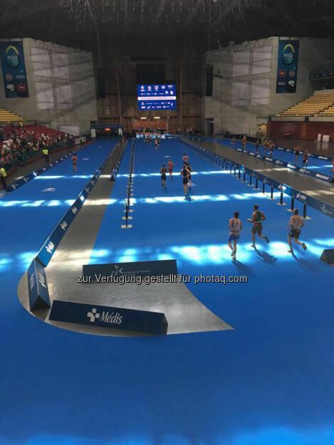 Martina Kaltenreiner: MEO Arena 4 Laufrunden = 5x in die Arena - Hammer Feeling, dort in's Ziel zu laufen!  (31.05.2016)