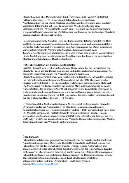 Fabasoft ist Mitglied bei ETSI, Seite 2/3, komplettes Dokument unter http://boerse-social.com/static/uploads/file_1146_fabasoft_ist_mitglied_bei_etsi.pdf (31.05.2016)