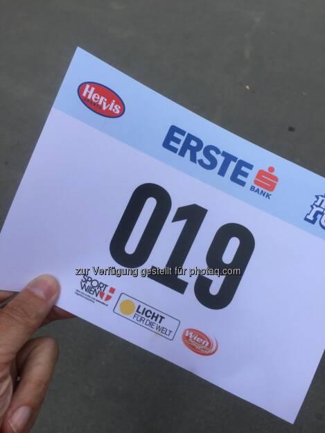 Im Vorjahr lief ich bei Wettbewerben 2x 5k deutlich unter 19, das ist weit weg (31.05.2016)