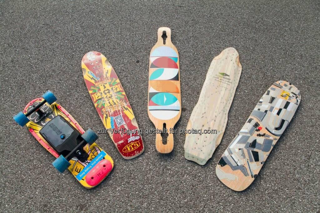 Mellow Boards : Antrieb, der aus jedem normalen Skateboard ein Elektroboard macht : Unter den 10 besten Mobility Startups in Europa : Fotocredit: Mellow Boards GmbH, © Aussendung (02.06.2016)