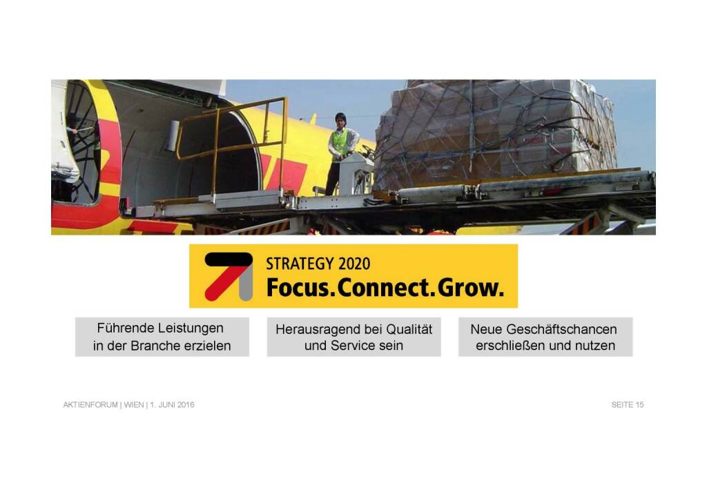 Deutsche Post - Focus. Connect. Grow. (02.06.2016)