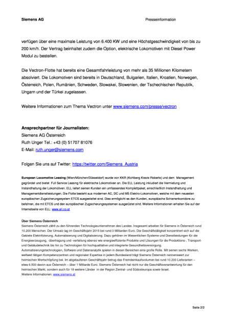 Siemens: ELL setzt weiter auf Vectron, Seite 2/2, komplettes Dokument unter http://boerse-social.com/static/uploads/file_1167_siemens_ell_setzt_weiter_auf_vectron.pdf (03.06.2016)