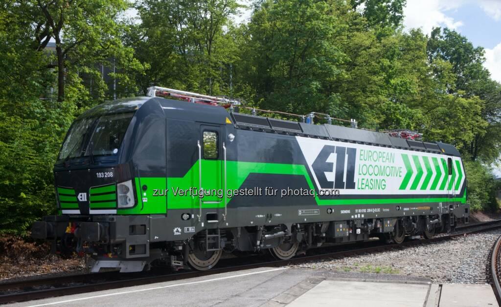 Vectron-ELL : European Locomotive Leasing/ELL setzt weiter auf Vectron von Siemens : Fotocredit: Siemens AG, © Aussendung (03.06.2016)
