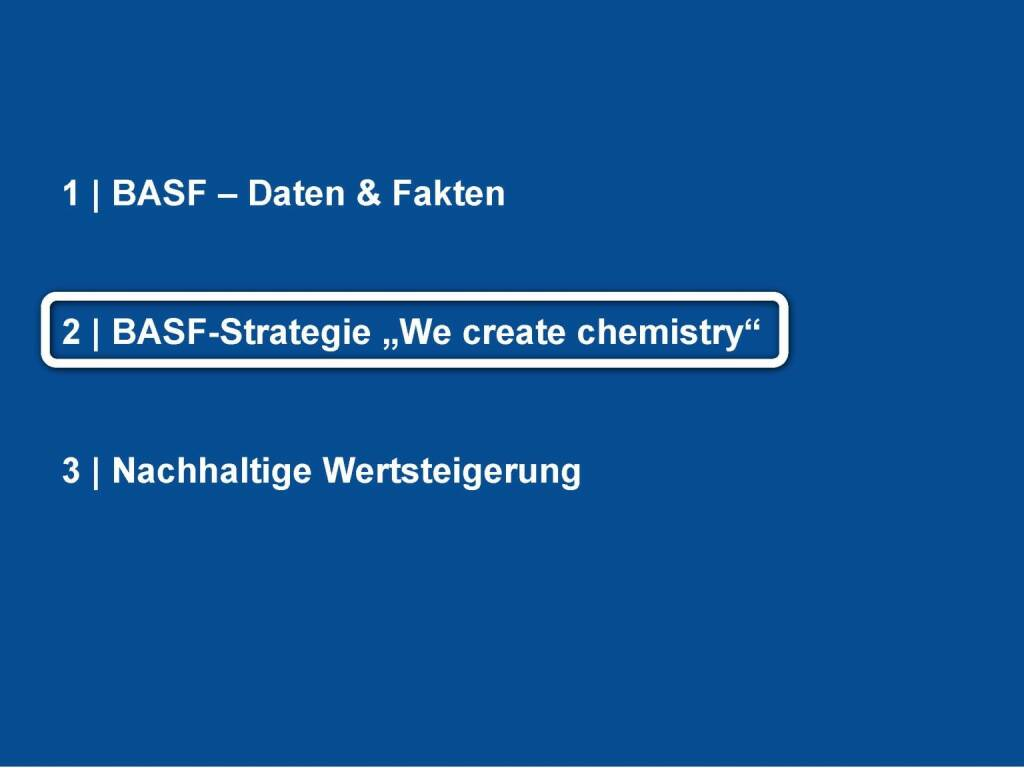 BASF - Strategie (06.06.2016)