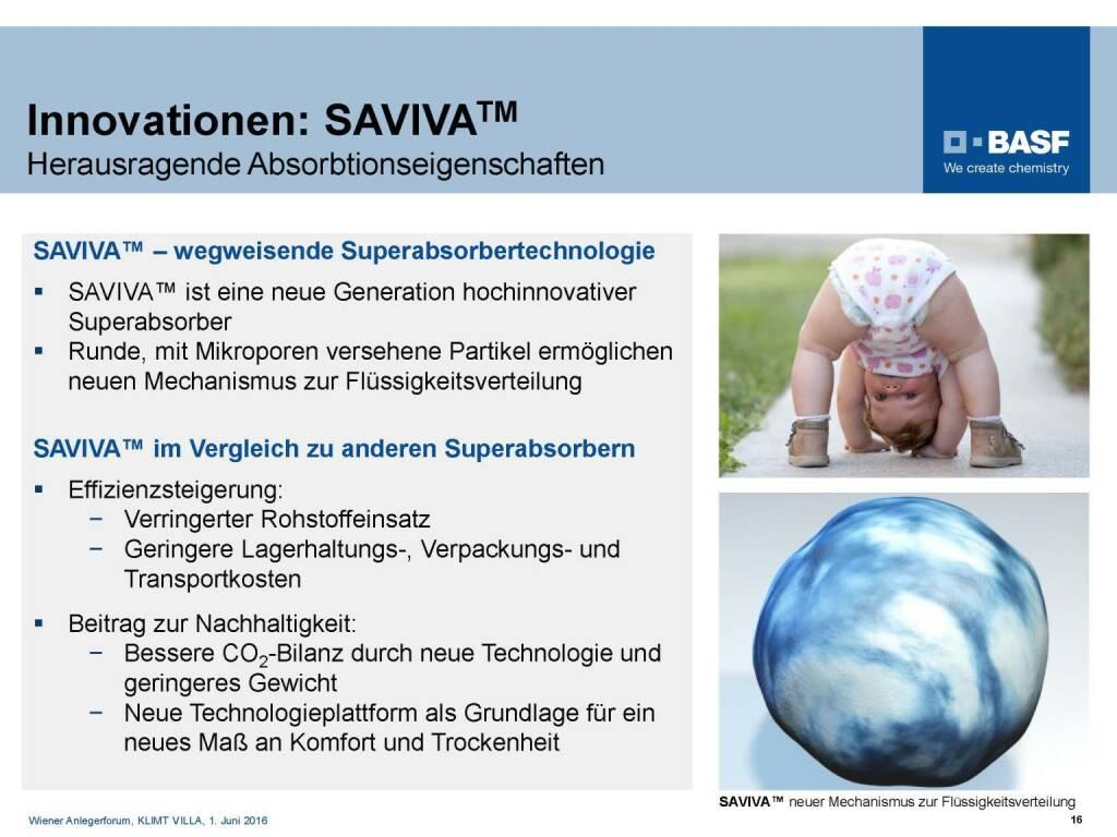 BASF - Innovationen SAVIVA (06.06.2016)