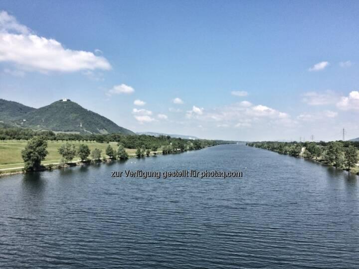 Blick Richtung Klosterneuburg