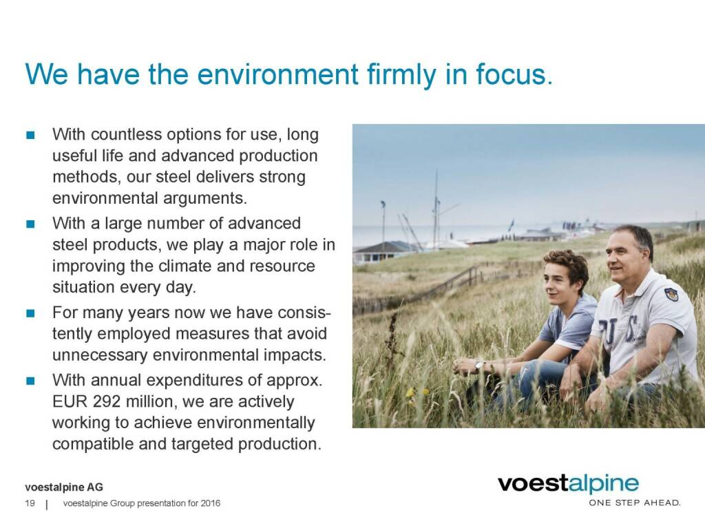 voestalpine - We have the environment firmly in focus (06.06.2016)