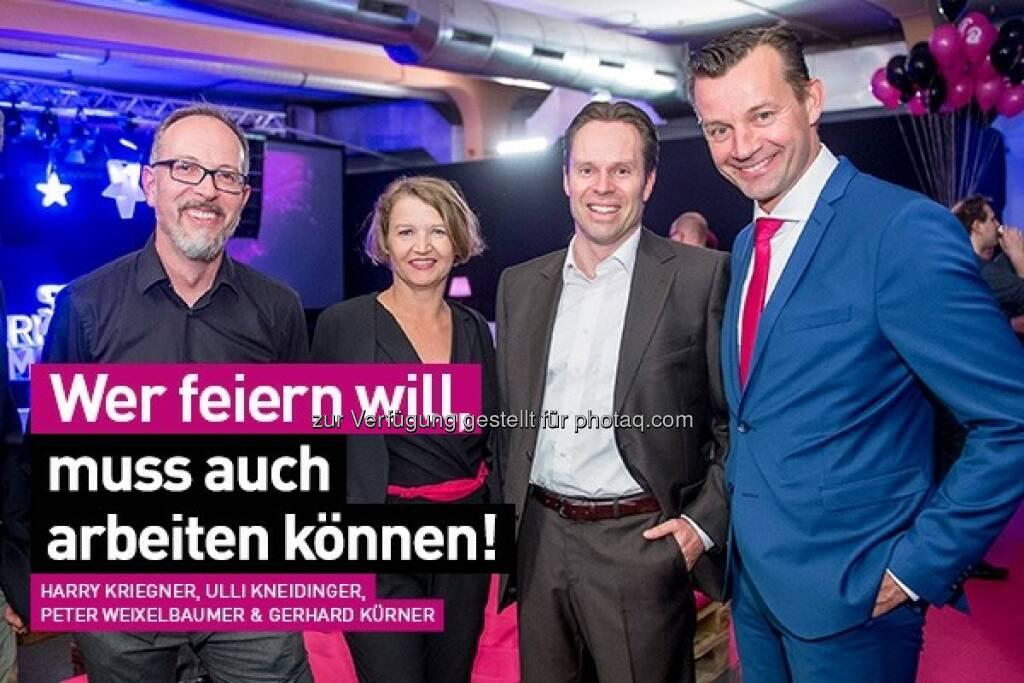 Harry Kriegner, Ulli Kneidinger, Peter Weixelbaumer, Gerhard Kürner : Lunik2 - Die Party des Jahres in der Tabakfabrik Linz : Copyright 2016 Lunik2 (09.06.2016)