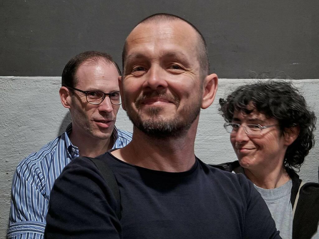 Harald Latzko, Reiner Riedler, Jacqueline Godany (photo: Helfried Valenta) (13.06.2016)