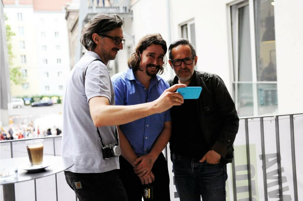 Josef Chladek, Clement Kauter, Andreas H. Bitesnich (photo: Corina Lueger/OstLicht) (13.06.2016)