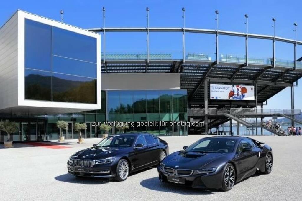 Die BMW Group ist neuer Hauptsponsor und exklusiver Automobilpartner der Bregenzer Festspiele : Fotocredit: BMW Group, © Aussendung (14.06.2016)