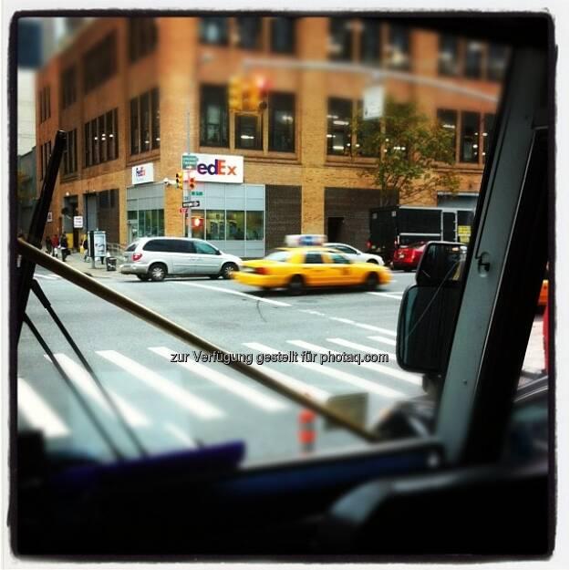 New York Moods by Manuel Taverne, FedEx, © Manuel Taverne (15.12.2012)