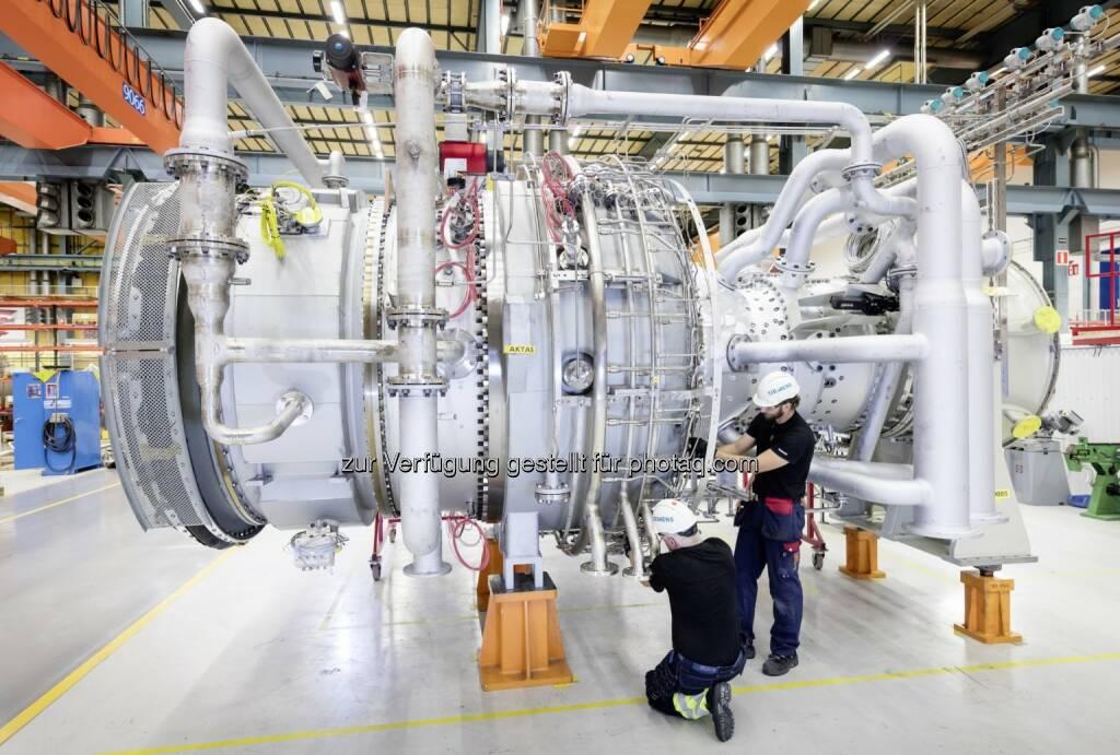 Gasturbine für Bolivien : Siemens präsentiert in Wien Zukunftstechnologien der Energiebranche : © Siemens AG, © Aussendung (16.06.2016)
