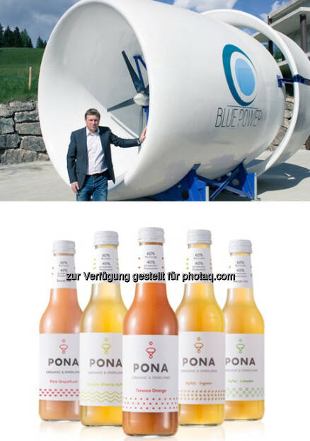 Herbert Gösweiner (Blue Power GF), Pona Sortiment : Blue Power und Pona starten Crowdfunding auf Green Rocket : Fotocredit: © GREEN ROCKET, © Aussendung (16.06.2016)