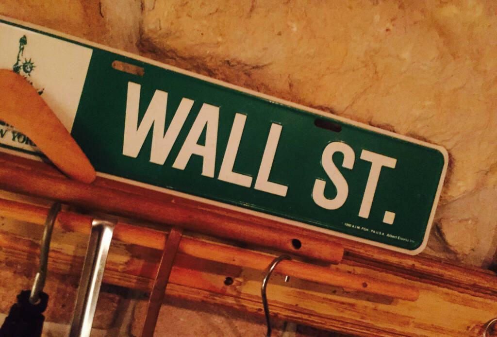 Wall Street New York Dow, © diverse photaq (20.06.2016)