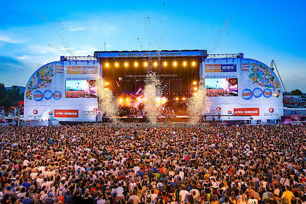 Festbühne am Donauinselfest 2016 : 3,1 Mio. Besucher an drei Tagen : Fotocredit: Donauinselfest/Wieser (27.06.2016)