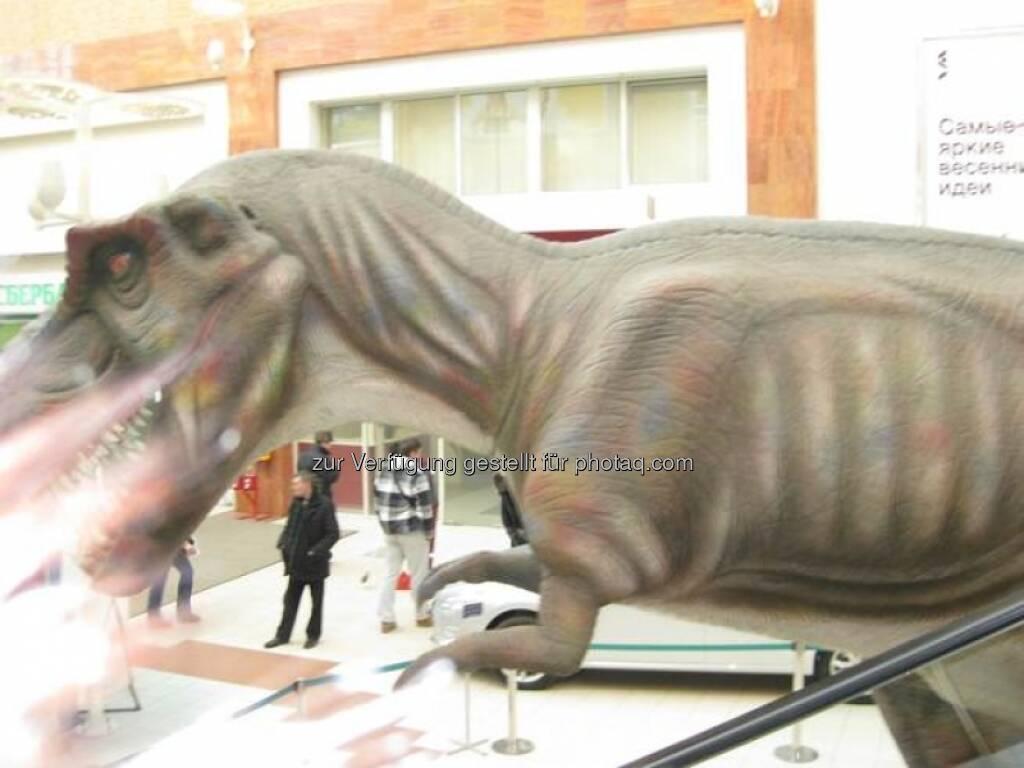 Immofinanz: Dinos in Rostokino, Zusammenhang siehe http://blog.immofinanz.com/de/2013/04/16/immofinanz-portfolio-in-anderen-zahlen-100-mio.-besucher-marathon-und-facebook-friends-/ (18.04.2013)