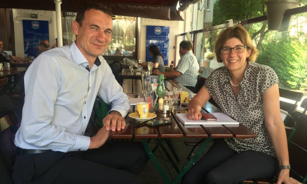 Mit Harald Albrecht und Astrid Kuehn-Ulrich, Zumtobel, über Licht und Lichtgestalten  (28.06.2016)