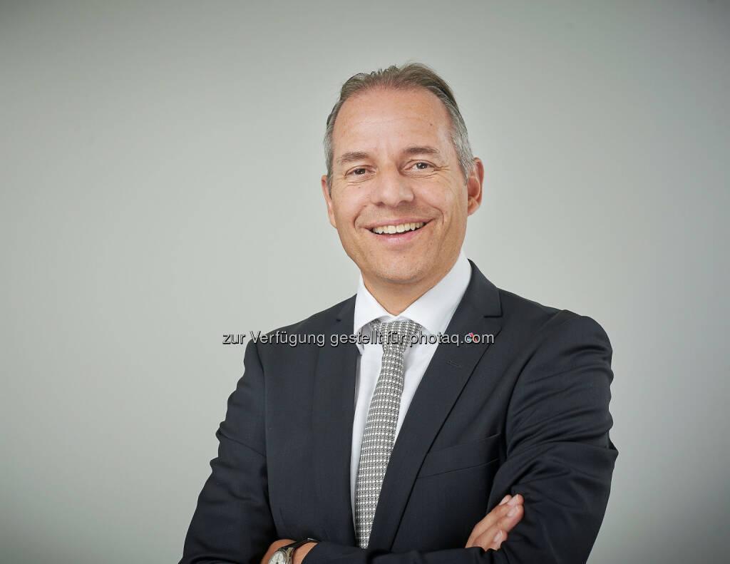 Philipp Gmür, Mitglied der Geschäftsleitung der Helvetia Gruppe und Vorsitzender der Geschäftsleitung von Helvetia Schweiz,  wird Nachfolger von Stefan Loaker per 1. September 2016 : Fotocredit: Helvetia, © Aussender (29.06.2016)
