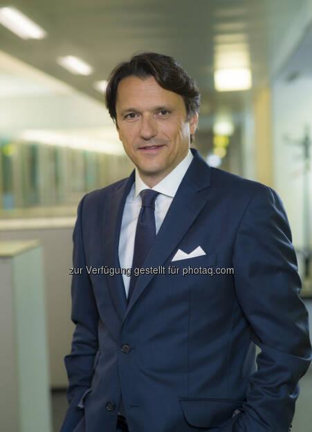 Alexandre Sofianopoulos übernimmt mit 1. Juli 2016 als General Manager von JTI Austria die Agenden von Hagen von Wedel, der in den Ruhestand tritt : Fotocredit: Foto: JTI/Wilke, © Aussender (30.06.2016)