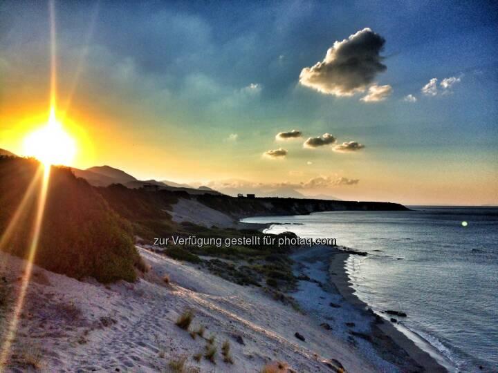 Strand, Sonne aufgehen, Sonnenaufgang