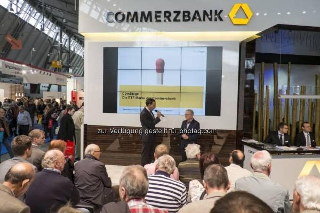 Commerzbank, Invest 2013 in Stuttgart - http://www.messe-stuttgart.de/invest/ (19.04.2013)