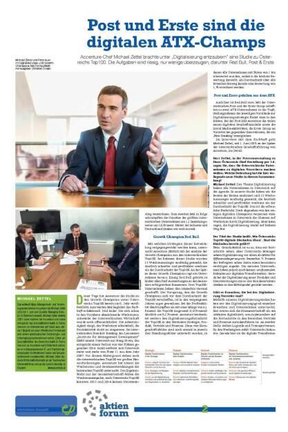 Fachheft 45-46 - Post und Erste sind diedigitalen ATX-Champs 1/2 (05.07.2016)