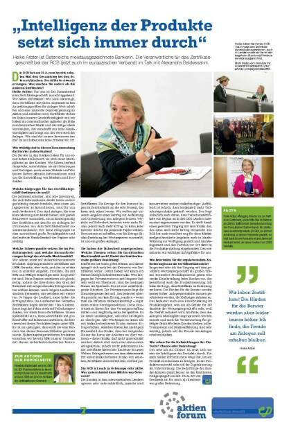 """Fachheft 45-46 - """"Intelligenz der Produktes etzt sich immer durch"""" (Heike Arbter) (05.07.2016)"""
