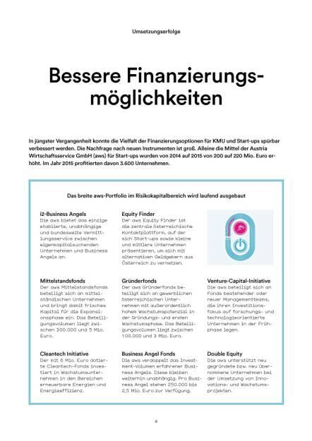 Bessere Finanzierungsmöglichkeiten (05.07.2016)