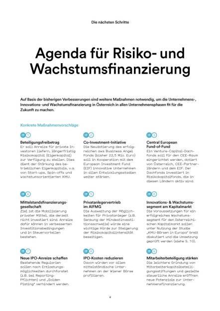 Agenda für Risiko- und Wachstumsfinanzierung (05.07.2016)