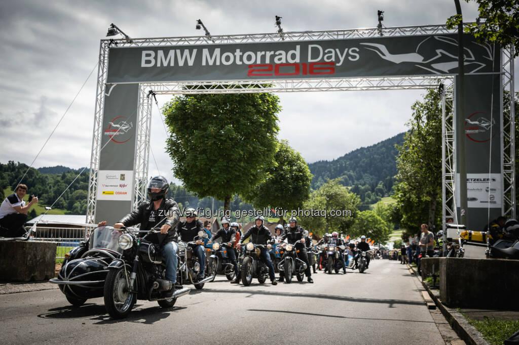 BMW Motorrad Days : BMW Motorrad erzielt zum vierten Mal in Folge neuen Absatzrekord in einem ersten Halbjahr : Per Juni erstmals über 80.000 Fahrzeuge ausgeliefert : Fotocredit: ©BMW Group, © Aussender (07.07.2016)