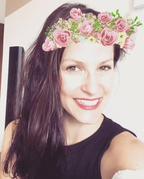 Corinna Choun Blumen Flower (08.07.2016)