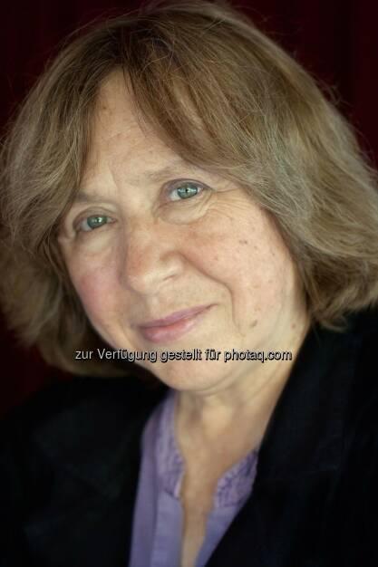 Swetlana Alexijewitsch (2015 Nobelpreis für Literatur) : Ehrengast von Literatur im Nebel in Heidenreichstein : Fotocredit: Ekko von Schwichow/schwichow.de, © Aussender (08.07.2016)