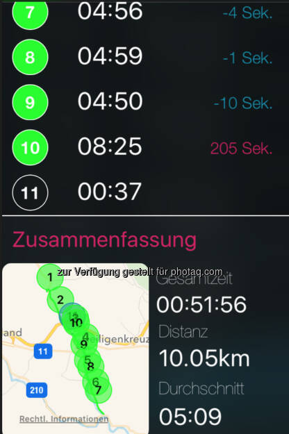 Der letzte Km war wegen der Wienerwaldschnecke ein Schneckenkilometer (09.07.2016)