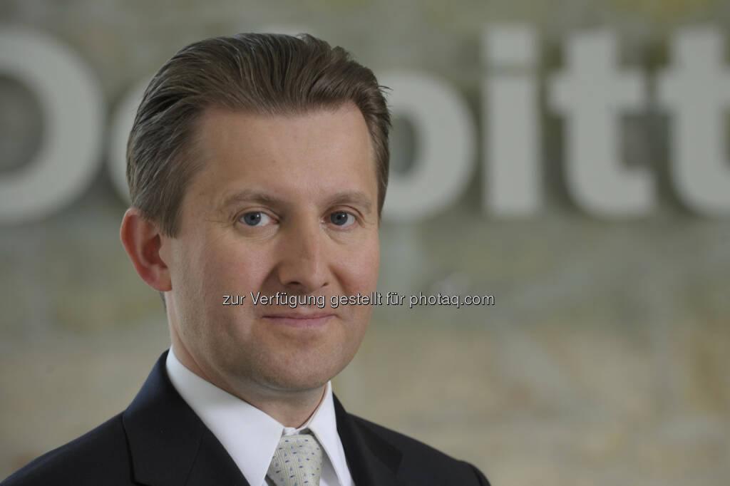 Alexander Hohendanner (Partner Deloitte Österreich) : Deloitte Property Index 2016: Preise für Neubauwohnungen in Wien um ein Drittel höher als im Österreichschnitt : Fotocredit: Picco, © Aussender (12.07.2016)