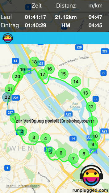 1. HM seit dem VCM via http://www.runplugged.com/app (14.07.2016)