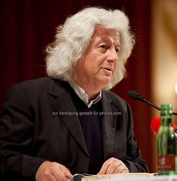 Péter Esterházy : Am Donnerstag, 14. Juli 2016 verstarb der ungarische Schriftsteller im 66. Lebensjahr in Budapest : Fotocredit: Esterhazy, © Aussender (15.07.2016)