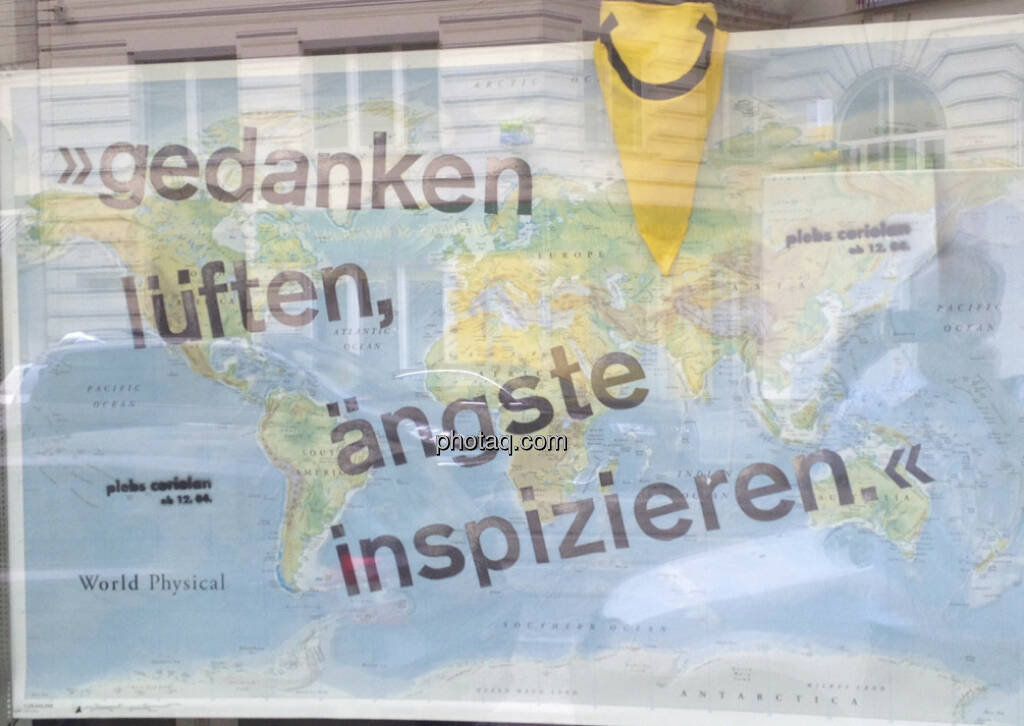 Weltkarte Gedanken lüften, Ängste inspizieren (21.04.2013)